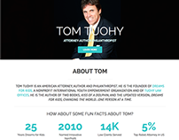 Tom Tuohy Personal Website