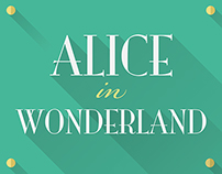 "Illustrations about ""Alice in Wonderland"""