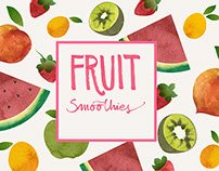 Fruit Smoothies | Book project