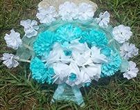 Aquatic Bridal Bouquet