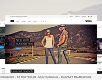 Weiss - Multipurpose Joomla Template