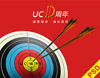 UC 10th Anniversary Visual Design