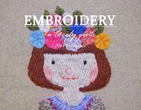 embroidery illust