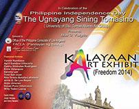 3rd Ugnayang Sining Tomasino Group Exhibition, LA, CA