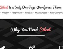 Silent - One Page Multipurpose WordPress Theme