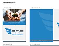 BDF Print materials