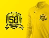 GKS Katowice 50th anniversary logo