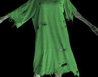Marvelous Designer Torn Tattered Zombie Clothing