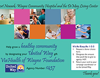 United Way postcard