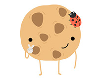 Coockie stickers for LINE messenger