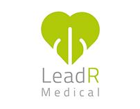 LeadR Logo Design