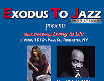 Exodus to Jazz postcard