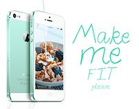 Make Me Fit Please UI/UX