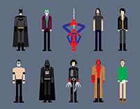 Minimalist Characters