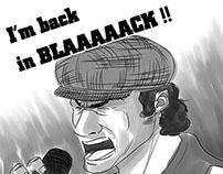 I'm back in BLAAAAACK!