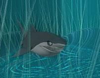 Underwater Environment using N-Hair in Maya 2014