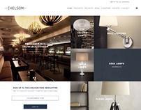Chelsom lighting - new website