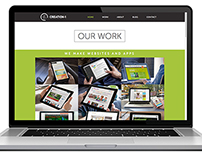 Creation-1 Interactive Agency Site