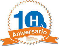 Graphic Identity for 10th Anniversary of Ha