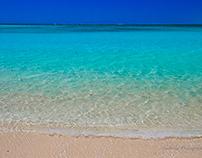 Clear blue oceans
