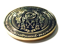 Hydro74 Business Card Coin