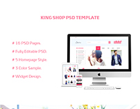 KingShop PSD Template