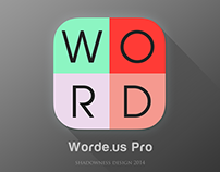 Flat icon for Worde.us Pro