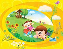 Nursery Rhymes Book - Vol.1