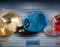 EXCLUSIVE X-MEN CHARACTER CAP COLLECTION