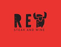 RED. Steak and wine restaurant in Saint Petersburg.