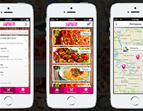 iPhone app (food delivery)