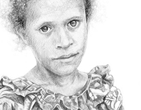 Sketchbook: Faces of Vanuatu