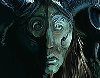 Pans Labyrinth - Faun Study
