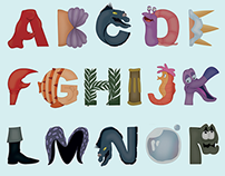 The Little Mermaid typeface