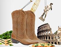 ניוזלטר לסוכנות נסיעות המתמחה בחופשות באיטליה