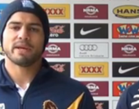 Brisbane Broncos thank QLD - Vinnies CEO Sleepout