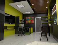 Shop Print & Coffee Bar [Interior design]