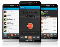 SoundCloud - BB10 Concept