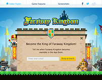 Mobile Game promo site _ Faraway Kingdom