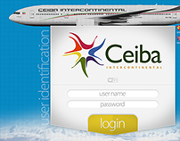 Ceiba Airlines - On Board WiFi Panel for Tablets