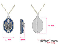 """The Vampire Diaries"" necklaces"