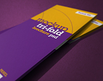 NT Photorealistic Tri-Fold Brochure Mockup - V01