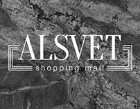 ALSVET - logo for shopping mall