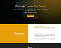 The jeep club website template with online view!