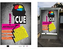 CUE (Wolfang Weingart Exhibition Ad)