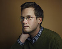 """John Green. Author of """"The Fault in Our Stars"""""""