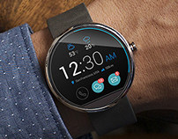 moto360 - Smart Watch Concept