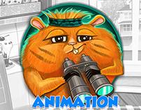 Hamster animation