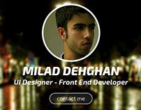 Milad Dehghans Personal Website