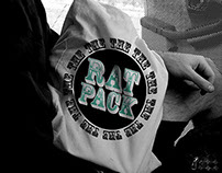 The Rat Pack. Screen printing business & branding.
